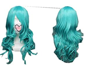 Long Blue Cosplay Wig Sailor Moon Costume Wigs lacefront wig party wig Lacefront Wig
