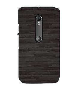 EPICCASE Black floor Mobile Back Case Cover For Moto X Style (Designer Case)