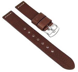 Minott Correa de Reloj XXL cuero Band 22mm de Minott relojenbänder
