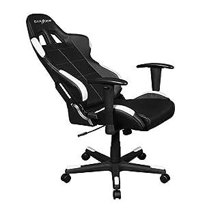 DXRacer OH/FD99/NW Formula Gaming Chair - schwarz/weiß