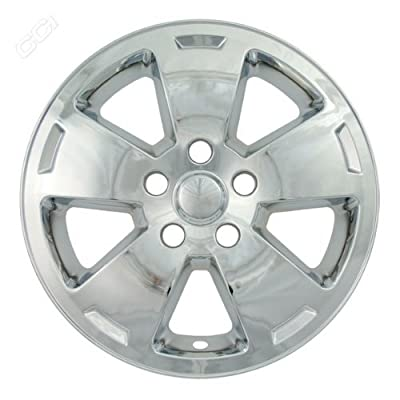 Coast To Coast IWCIMP318X 16 Inch Chrome Wheelskins With 5 Flat Spoke With Indent - Pack Of 4