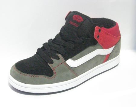 7d74265a39 Men s Vans TNT II MID CUP Charcoal Black  Scarlet VN-0JLF1LJ (Men s