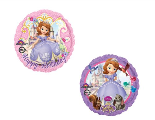 SET OF TWO Disney's SOFIA THE FIRST BIRTHDAY PARTY Balloons Decorations Supplies