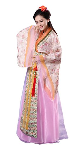 Chinese Costume Women's Beautiful Fairy National Halloween Cosplay As Picture FS