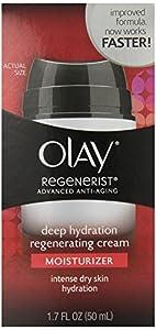 Olay Regenerist Advanced Anti-Aging Deep Hydration Regenerating Cream Moisturizer, 1.7 Fluid Ounce