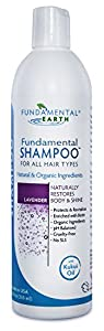 Fundamental Shampoo - 12 Oz. - Chemical Free Shampoo - SLS Free - Natural Shampoo - Made in USA