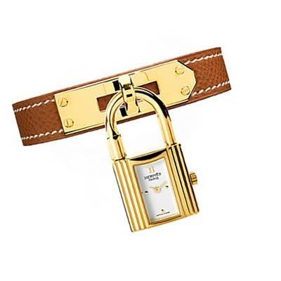 Hermes Kelly Gold Plated Ladies Quartz Watch - 023725WW00