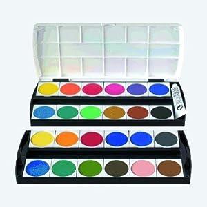 b robedarf und schreibwaren zum verkauf online geha deckfarbkasten f250 24. Black Bedroom Furniture Sets. Home Design Ideas