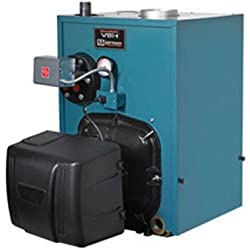 Burnham PV8H3WC-TBWN Water/Steam Oil Fired Boiler Less Tankless Coil, 1.05 gph, 109 MBH
