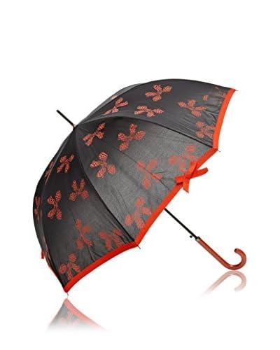 Dots Paraguas Lazos Naranja