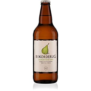 Rekorderlig - Pear - Premium Swedish Cider - 15x500ml Glass Bottle Case