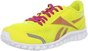 Reebok Women's Realflex Optimal Running Shoe,Sun Rock/Condensed Pink/White,7.5