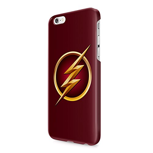 The Flash Logo Justice League Superhero Comics Hard Snap-On Protective Case Cover For Iphone 6 / Iphone 6S