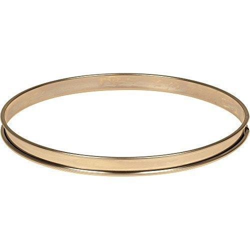 Matfer Bourgeat 371618 Plain Tart Ring, Silver by Matfer Bourgeat