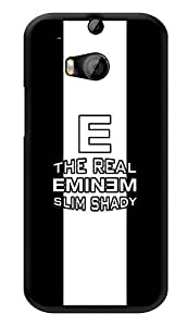 "Humor Gang The Real Shady Boy Printed Designer Mobile Back Cover For ""HTC ONE M8 - HTC ONE M8S"" (3D, Glossy, Premium Quality Snap On Case)"