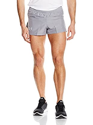 Under Armour Short Entrenamiento Running - Hose Launch Split Shorts (Gris)