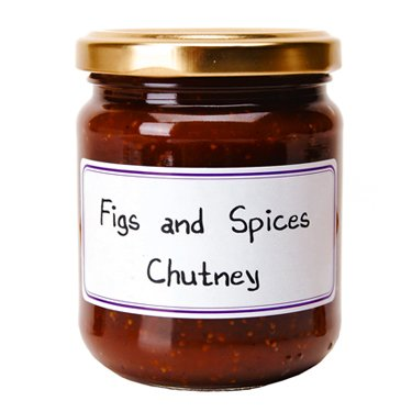 Figs and Spices French Imported Chutney 7.4 oz jar by l'Epicurien, France