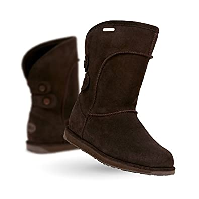 Emu Australia Charlotte W10843 Chocolate Boots (UK 8)