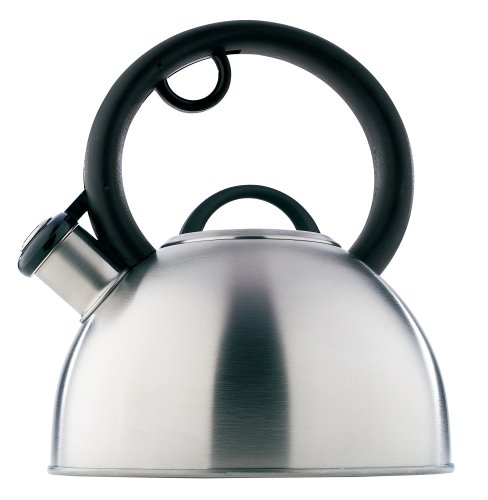 Copco Diplomat 2-Quart Brushed Stainless Steel Teakettle