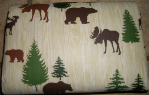 If You Are Look For An Animal Bear Moose Deer 60 X 84 Inch Vinyl Tablecloth    . Take A Look Here You Will Find The Prices And Many Offers.