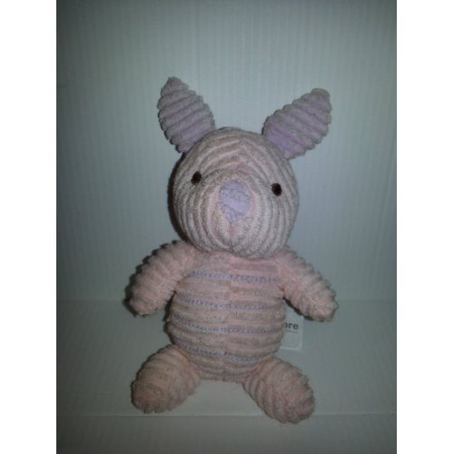 "Disney Ribbed Classic Piglet - Mini Bean Bag Plush - 6"" - 1"