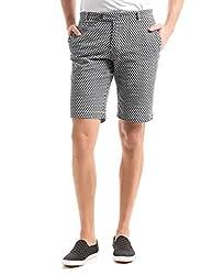 Shuffle Men's Cotton Shorts (8907423003033_2021516301_36_Navy)