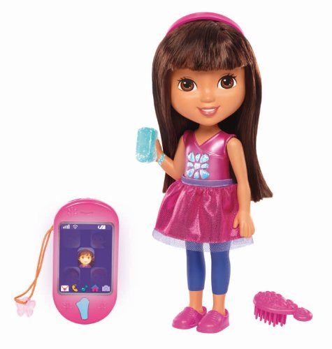 Fisher-Price Nickelodeon Dora & Friends Talking Dora & Smartphone - 1
