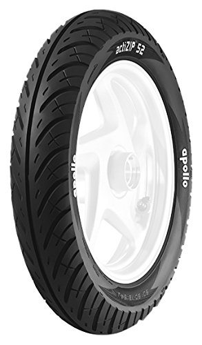 Apollo Actizip S2 90/90 -12 Tubeless Bike Tyre,Front&Rear