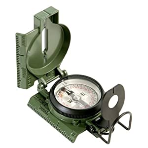 Cammenga Official US Military Tritium Lensatic Compass - OD Green