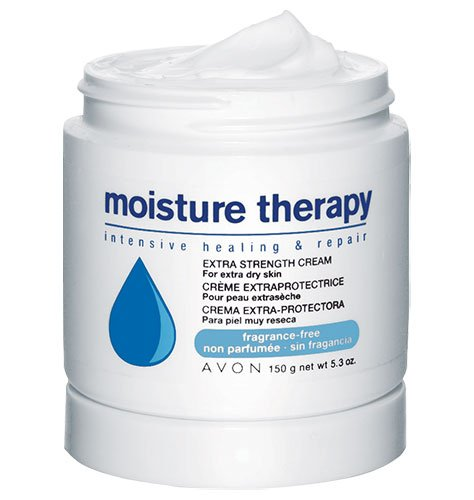 Avon Moisture Therapy Extra Strength Cream for Extra Dry Skin 5.3 oz