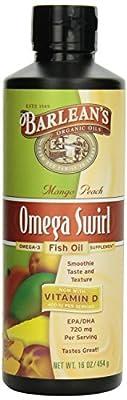 Barlean's Lemon Zest Fish Oil Swirl