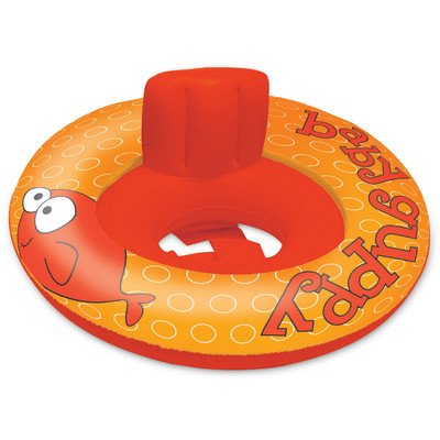 Under The Sea Baby Sitter Pool Tube Color: Orange