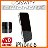 【正規品】GRAVITY SWORDα (グラビティー ソードアルファ)【iPhone5s/5用】アルミバンパー (シャンパン・ゴールド)