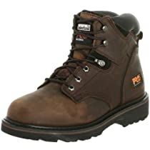"Hot Sale Timberland PRO Men's Pitboss 6"" Soft-Toe Boot,Brown/Brown,12 W"