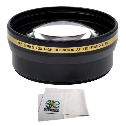 52Mm 2.2X Telephoto Lens For The Nikon D3000 D3100 D3200 D3300 D5000 D5100 D5200, D5300, D90, D80 Digital Slr Cameras This Lens Will Attach Directly To The Following Nikon Lenses 18-55Mm, 55-200Mm, 24Mm F/2.8D, 28Mm F/2.8D, 35Mm F/1.8G, 35Mm F/2.0D, 40Mm