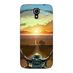 Enticing Wonder Cruise Way Multicolor Back Case Cover for Galaxy Mega 6.3