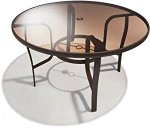 Strathwood Rawley 48-inch Round Dining Table by Strathwood