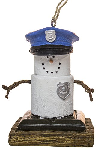 S'Mores Police Ornament