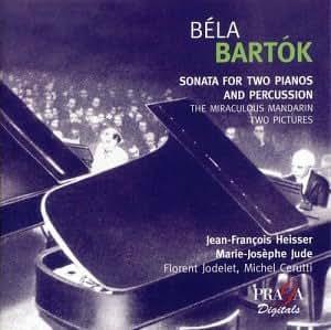 Bartok - Oeuvres pour 2 pianos : Le Mandarin merveilleux / Images op. 10 / Sonate pour 2 pianos et percussions (SACD hybride)
