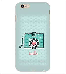PrintDhaba Camera D-1970 Back Case Cover for APPLE IPHONE 6 PLUS (Multi-Coloured)
