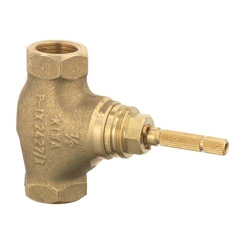 Unterputz-Ventil 1/2 Zoll Bausatz 1 mit Keramik-Oberteil 90 Grad und Gewindeanschluss, 54809