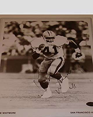 Dave Whitmore San Francisco 49ers Autographed 8x10 Photograph