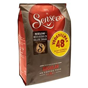 Senseo Regular / Classic Roast, New Design, 48 Coffee Pods