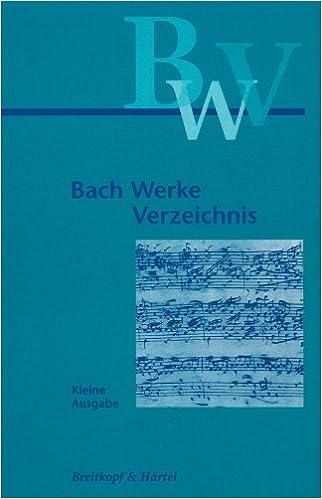 Bach-Werke-Verzeichnis #