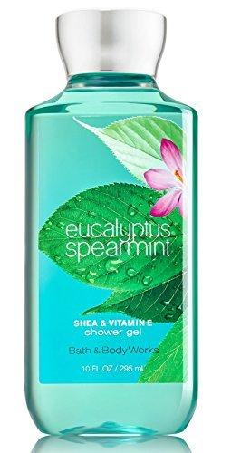 Bath & Body Works Shea & Vitamin E Shower Gel Eucalyptus Spearmint