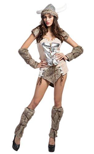 Bigood-Femme-Dguisement-Cosplay-Aborigne-Voleur-Vache-Costume-Halloween