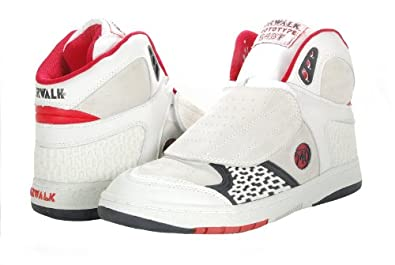 Buy Airwalk Mens Prototype 540 White Black Red MF10FW402 Shoes by Airwalk