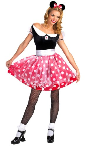Deluxe Adult Minnie Mouse Costume - Adult Std.
