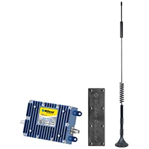 Wilson Electronics Cell Phone Signal Booster Kit for Vehicle with Low Profile Antenna