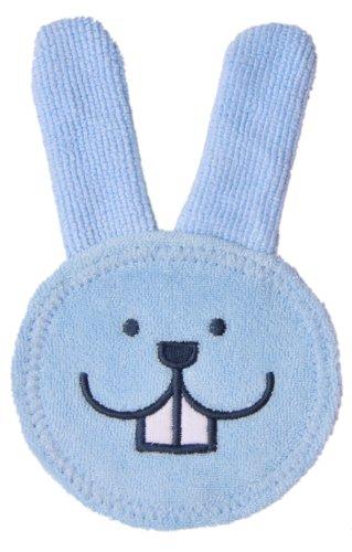 MAM 922411 - Oral Care Rabbit, Guanto per igiene orale coniglietto, colore: Blu